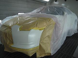 日産GTR(R35) バンパーキズ修理